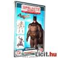 Eladó Batman figura - mozgatható 13cm-es Arkham Batman akciófigura építő modell szett - Sprükits / Sprukit