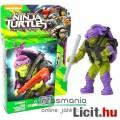 Tini Nindzsa / Ninja Teknőcök 4-5cmes Donatello / Donnie figura áttetsző testtel - Mega Bloks mozgat
