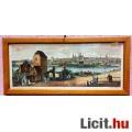 Eladó Német nagyvárosok látképei 16.-18. századi színes rézkarcokon, 9db. üv