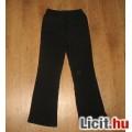 Eladó csinos fekete lányka nadrág,méret:122/128