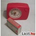Eladó Ébresztő Óra Piros Műanyag Világít is (Működik, de hibás) (5 képpel :)