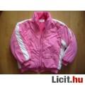 Eladó Rózsaszín bélelt gyönyörű, meleg, zsebes dzseki 5-7 évesre