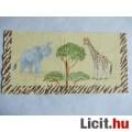 szalvéta - elefánt és zsiráf