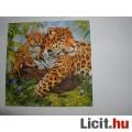 Eladó szalvéta - leopárdok