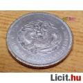 """Eladó Kínai Hupeh Province Silver """"Dragon"""" Dollár, kiváló állapotú ritkaság"""