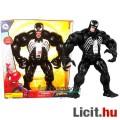 Eladó 38cmes Venom figura - mozgatható Marvel Pókember fekete Venom / Méreg beszélő óriás szuperhős játék