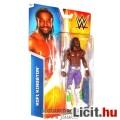 Pankrátor figura - 2014-es Kofi Kingston figura ila-fehér nadrágban - bontatlan csom. - Mattel WWE P