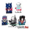 Eladó Transformers mini figura szett - G1 Optimusz, Racsni, Fülelő, Megatron és Üstökös, csom. nélk.