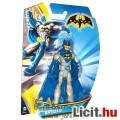 Eladó Batman figura - 10cmes szemüveges-sisakos Batman mesehős játék figura 5 ponton mozgatható - DC Matte