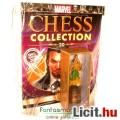 Eladó Marvel Szuperhősök sakk figura - Mandarin Vasember / Iron Man ellenség ólom figura angol újsággal -