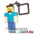 Eladó 5-6cmes Minecraft Steve / Player figura - mozgatható minifigura + rárakható kulcstartó, csom. nélkül