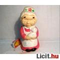 Kerámia Szobor (Ver.2) Kínai Nagymama kb.1998 (6képpel)