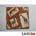 szalvéta - Afrika állatai