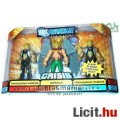 Eladó Igazság Ligája figura - 10cm-es Hawkman + Thanagarian Warrior 3db-os Justice League DC szuperhős fig