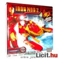 74 elemes Vasember építőjáték - mozgatható Iron Man / Vasember figura és építhető jármű szett - Mega