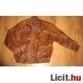 Eladó férfi műbőr kabát,méret:L