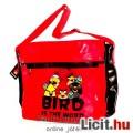 Eladó Angry Birds táska -  45x35cm-es oldaltáska / válltáska cipzáros zsebekkel és állítható pánttal