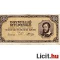 Eladó 1.000.000 Milpengő  1946
