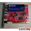 MSI TVanywhere Pro Analóg Tuner PCI (teszteletlen) 3képpel