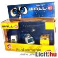 Eladó Wall-E figura szett - 3db fém játék robot - WallE összehúzódva, M-O és VacuumBot - Disney