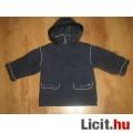 Eladó virágos meleg téli kabátka,méret:98/104