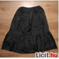 Eladó fekete fodros BHS szoknya,méret:36/38