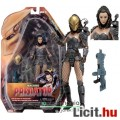 Eladó 18-21cm-es Predator figura - NECA Machiko női Predator-szövetséges levehető maszkkal, puskával és ex