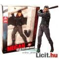 Eladó 26cm-es Walking Dead figura - Negan TV szobor figura Lucille baseballütővel ütő pózban, talapzattal