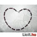 Eladó Gyógyító gránát nyaklánc, hegyikristály golyókkal 47 cm