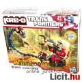 Transformers - Kre-O Windcharger minifigura vs Corhada építhető Predacon mecha mérgeskígyó figura sz