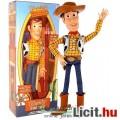Eladó 40 cm-es Toy Story - beszélő Woody / Vudi Sheriff figura kalappal -új Woody's Roundup csomagolás