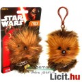 Star Wars plüss figura - 9cmes Chewbacca / Csubakka beszélő mini plüss játék wookie figura - Új Csil