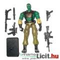 Eladó GI Joe figura - Beachead V9 kommandós katona figura géppuskával, plusz felszereléssel és talppal - H