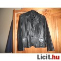 Eladó Női bőrkabát fekete S méret Zara márka