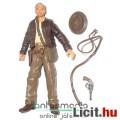 Eladó 10cmes Indiana Jones figura - Indy figura levehető kalappal, ostorral és pisztollyal - csom. nélkül