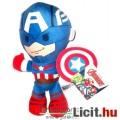 Eladó Marvel Bosszúállók 16-19cm plüss - Amerika Kapitányka / Kapitány plüss játék figura - Új Captain Ame