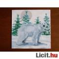 szalvéta - jeges medve