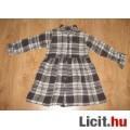 Eladó Csinos kockás flanel ruha,méret:122