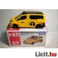 Tomica No.27 Nissan NV200 Taxi (2nd) 1:62 (2017) Új (10képpel)