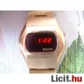Eladó Vintage BULOVA férfi működő arany színű piros LED óra a 70-es évekből