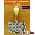 Eladó Bontott billentyűzetpanel, fólia: Samsung L760 felső.