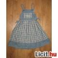 Eladó Lányka kockás  farmer ruha,méret:116