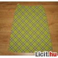 Eladó zöld kockás Barisal szoknya,méret:36