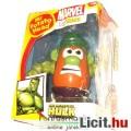 Eladó Toy Story / Marvel Mr Potato Head Hulk figura - 14cmes Krumplifejű Úr Hulk elemekkel - szétszerdhető