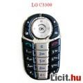Eladó LG C3300 gomsor, billentyűzet, acélkék-ezüst.