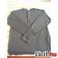 sötétszürke póló (hosszú ujjú)