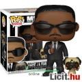 Eladó 10cmes Funko POP Men In Black figura - Agent J és Frank kutya nagyfejű karikatúra figura