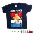 Eladó eredeti WWE Pankráció - póló John Cena HLR minta, 3-4 éves gyermek méret - Hustle, Loyalty, Respect