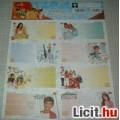High School Musical 8 db-os füzetcimke matrica