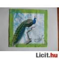 szalvéta - páva